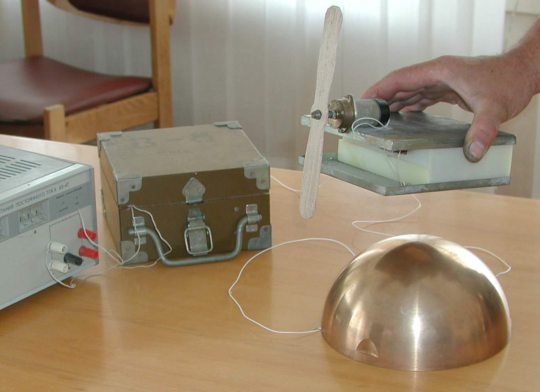 Однопроводная и беспроводная передача энергии с фрагментами видеосъемки экспериментов Косинов Н.В., Гарбарук В.И.